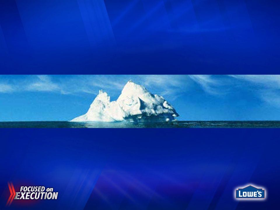 Here is a picture of an iceberg and from our perspective above water, it may appear to exist in and of itself ………