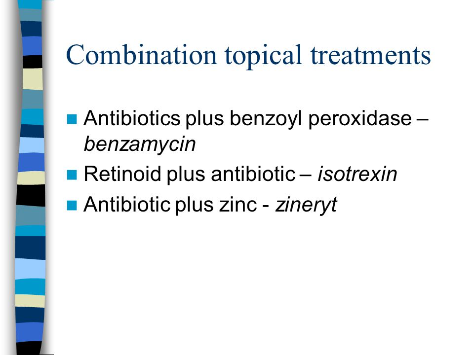 Combination topical treatments