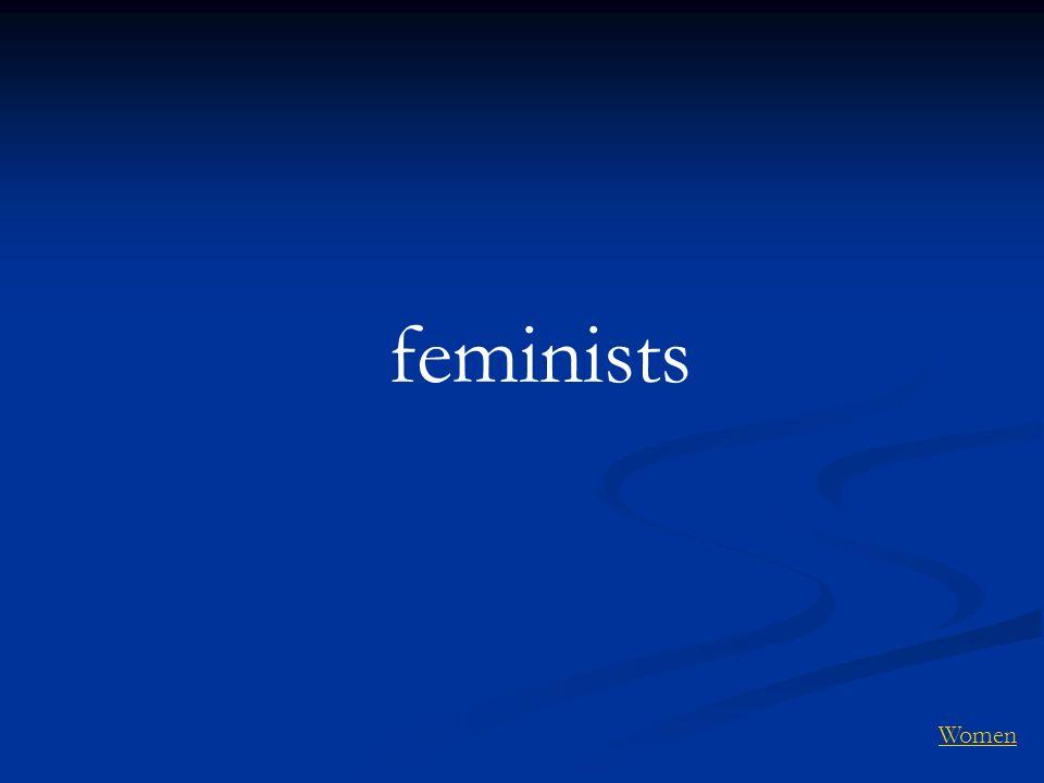 feminists Women