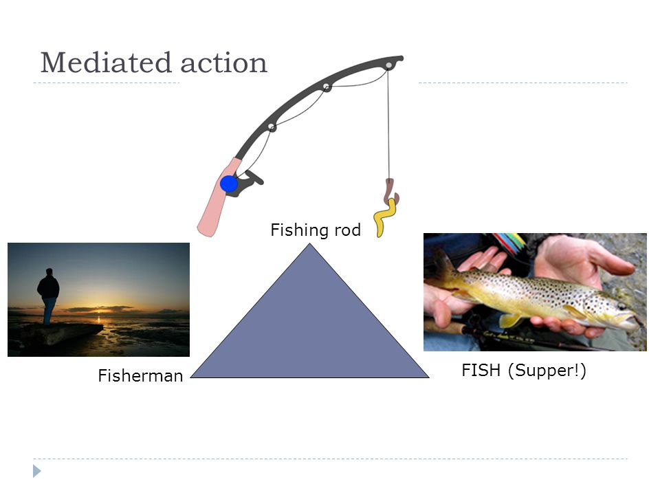 Mediated action Fishing rod FISH (Supper!) Fisherman
