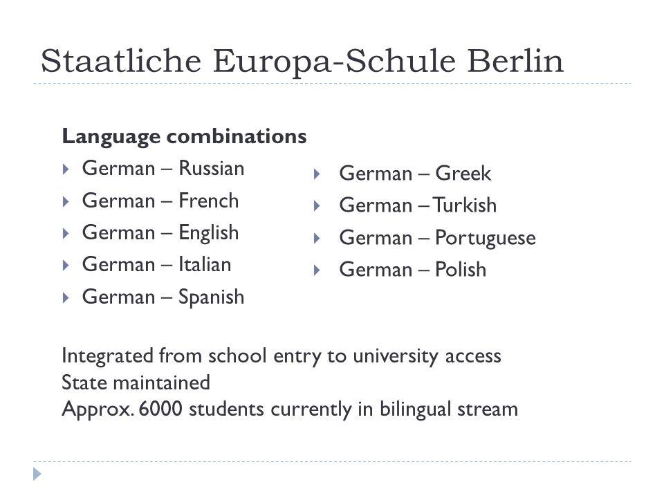 Staatliche Europa-Schule Berlin