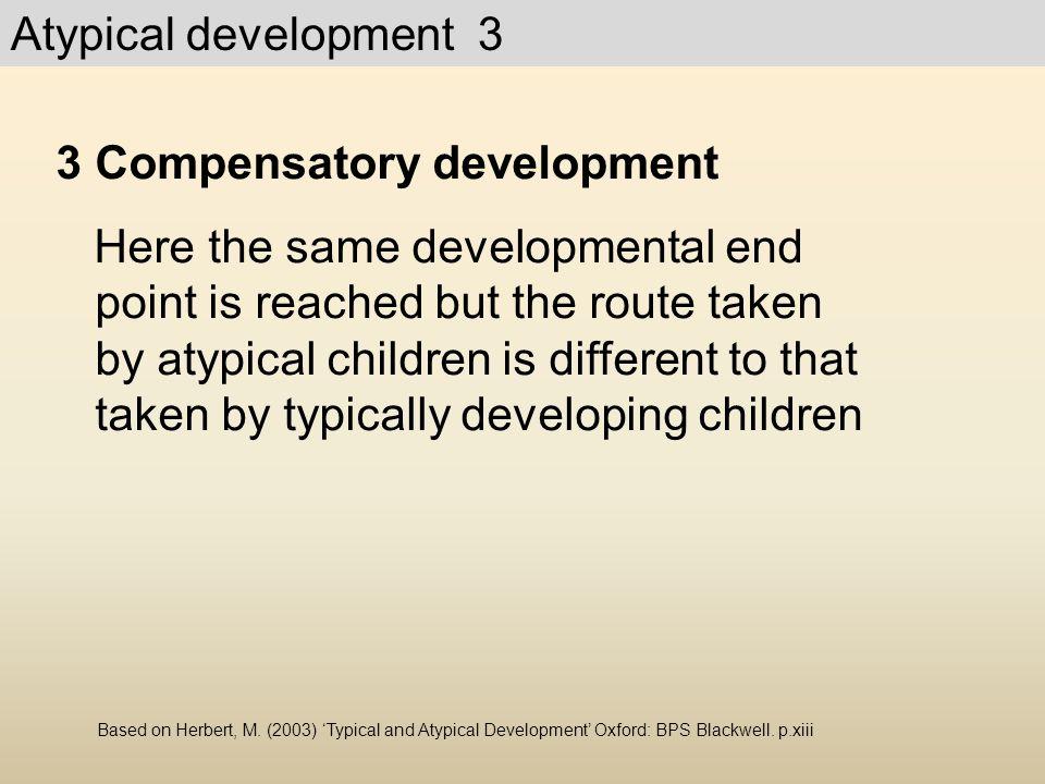 Compensatory development
