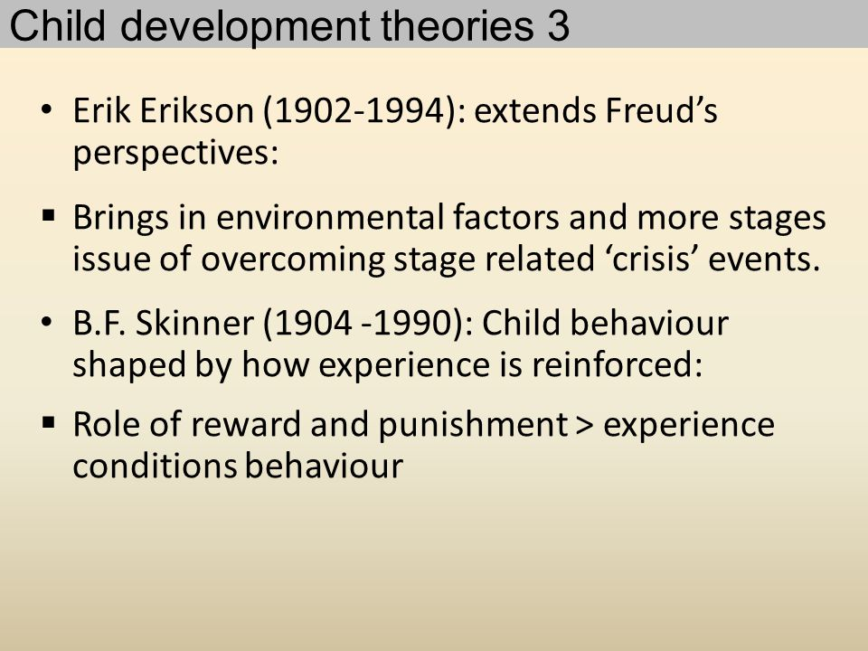 Child development theories 3