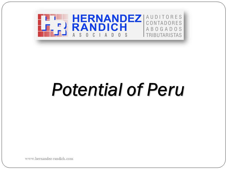 Potential of Peru www.hernandez-randich.com