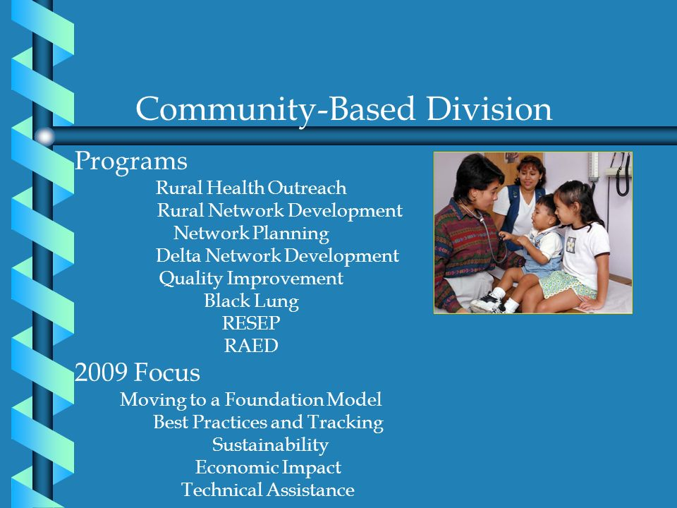 Community-Based Division