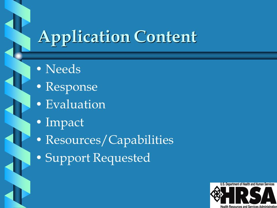 Application Content Needs Response Evaluation Impact