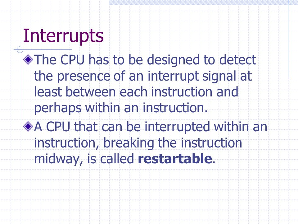 Interrupts