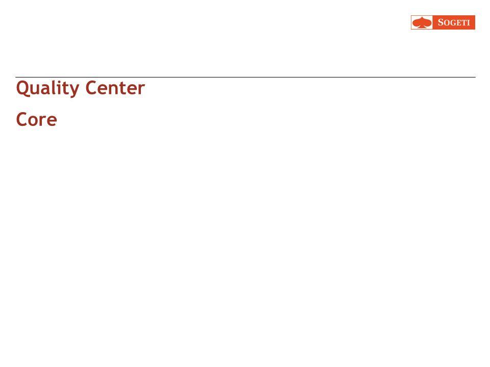 Quality Center Core