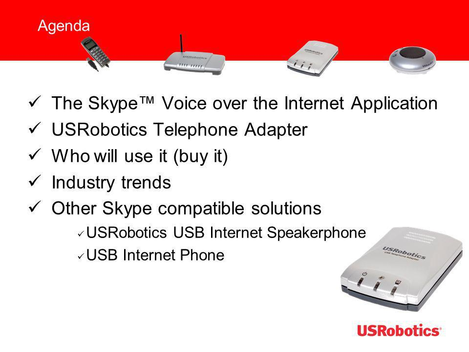 The Skype™ Voice over the Internet Application