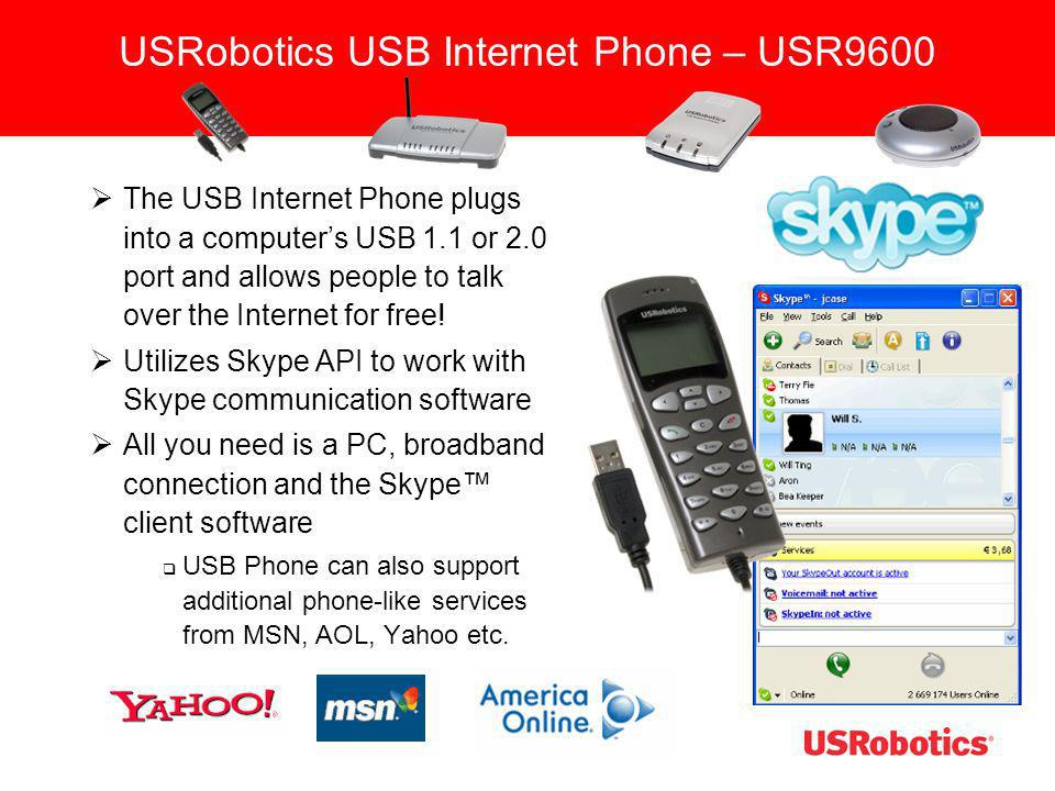 USRobotics USB Internet Phone – USR9600