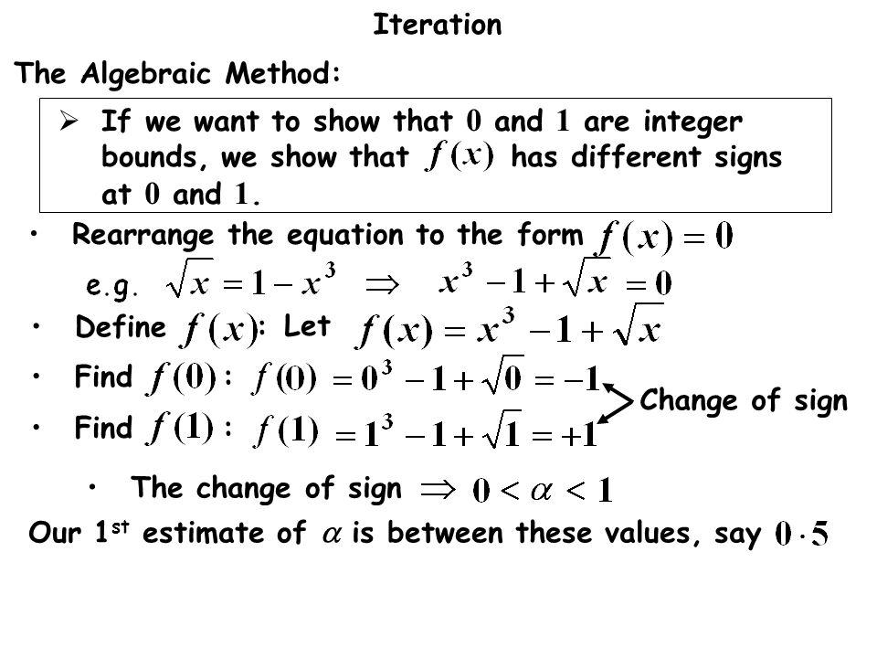 Rearrange the equation to the form