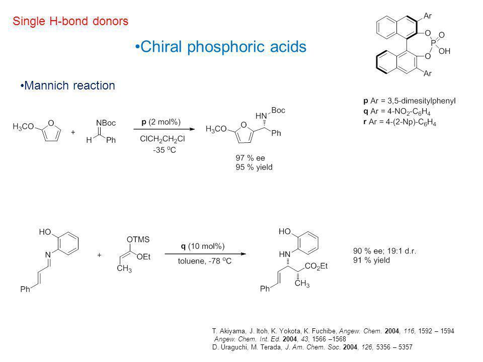 Chiral phosphoric acids