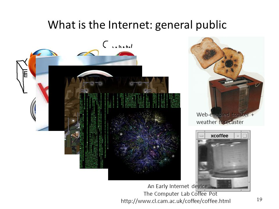 What is the Internet: general public