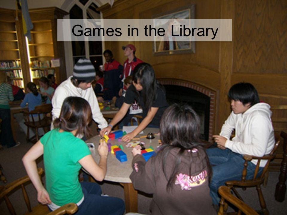 Games in the Library Games in the Library 14