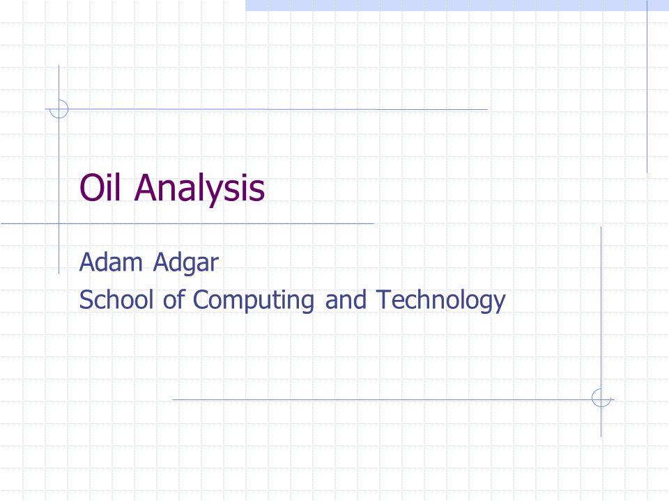Adam Adgar School of Computing and Technology