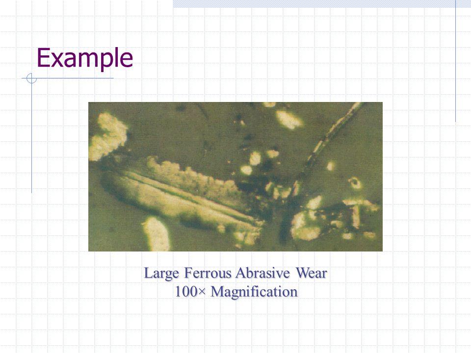 Large Ferrous Abrasive Wear