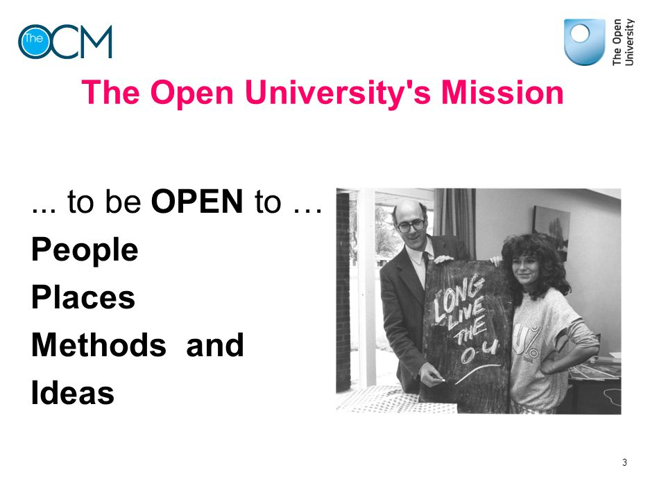 The Open University s Mission