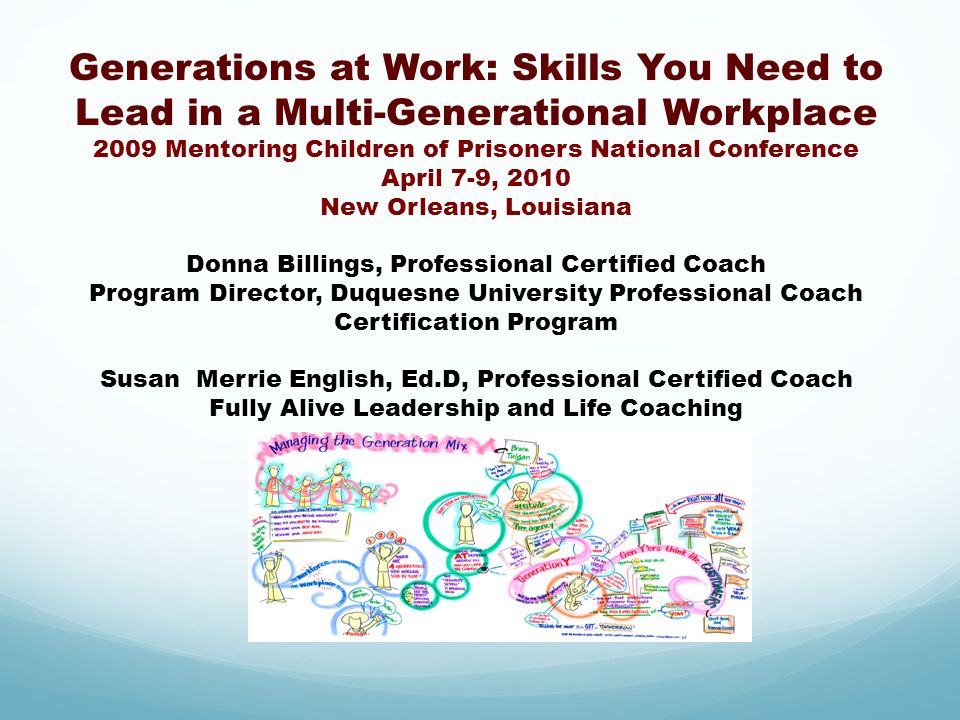 Generations at Work: Skills You Need to Lead in a Multi-Generational Workplace