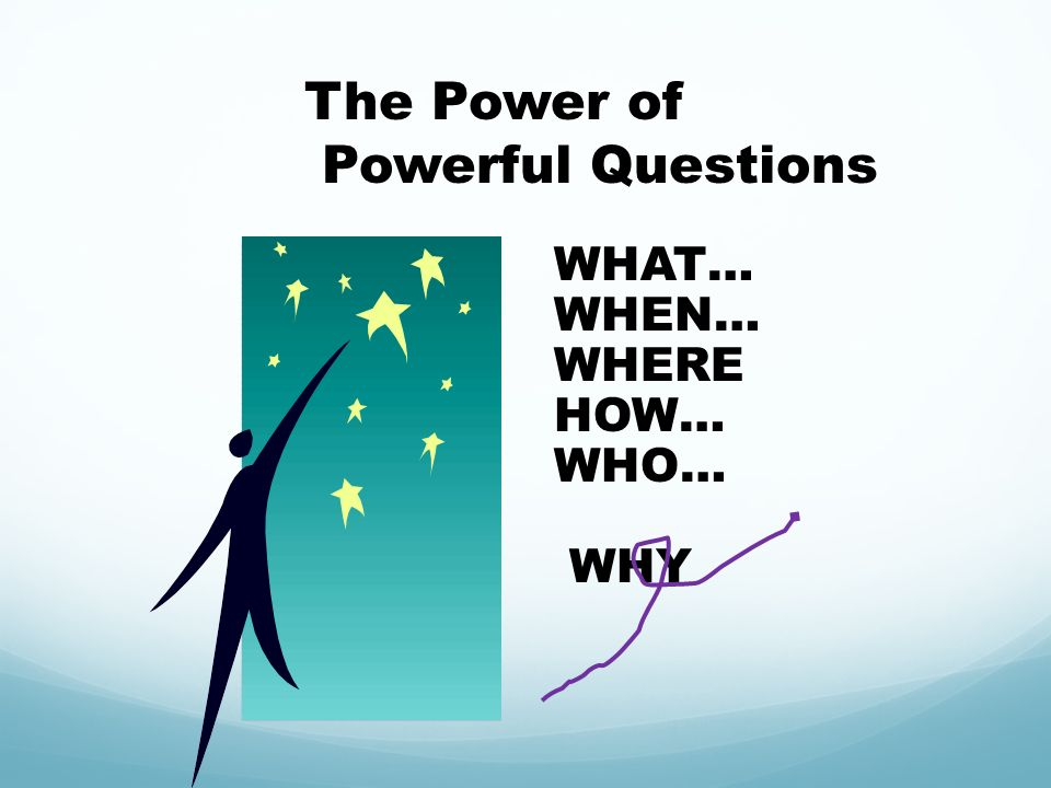 The Power of Powerful Questions