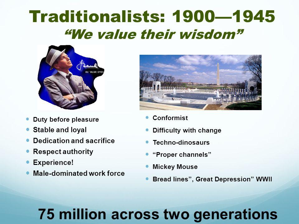 We value their wisdom