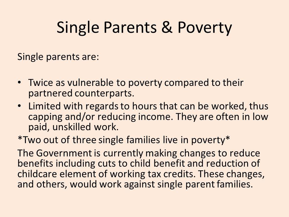 Single Parents & Poverty