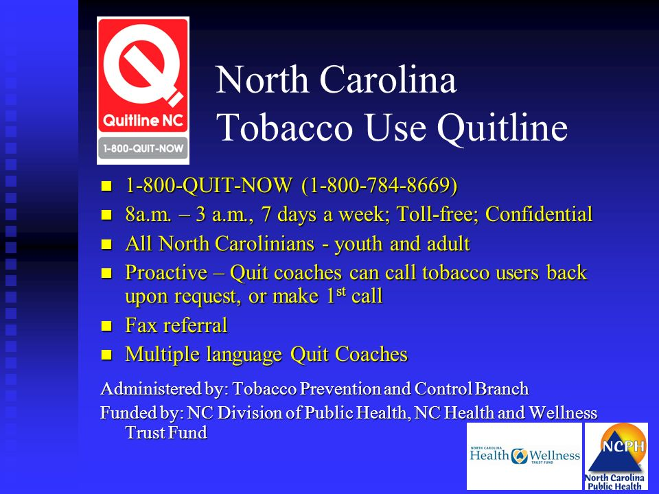 North Carolina Tobacco Use Quitline