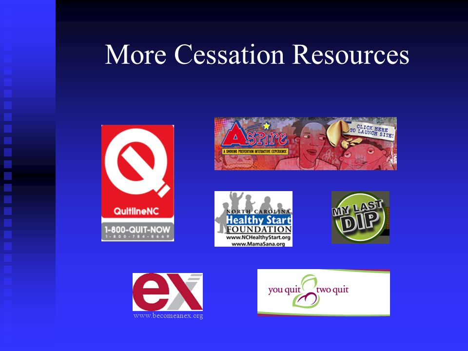 More Cessation Resources