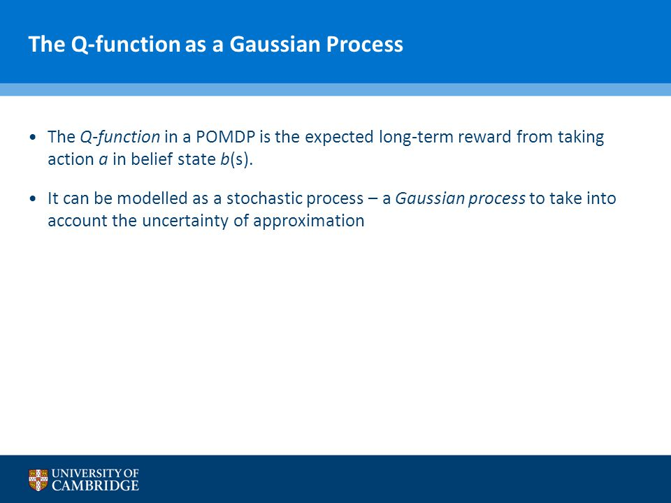 The Q-function as a Gaussian Process