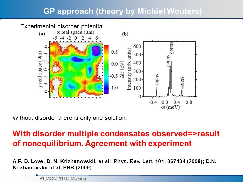 GP approach (theory by Michiel Wouters)