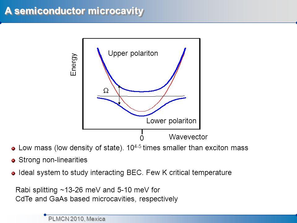 A semiconductor microcavity