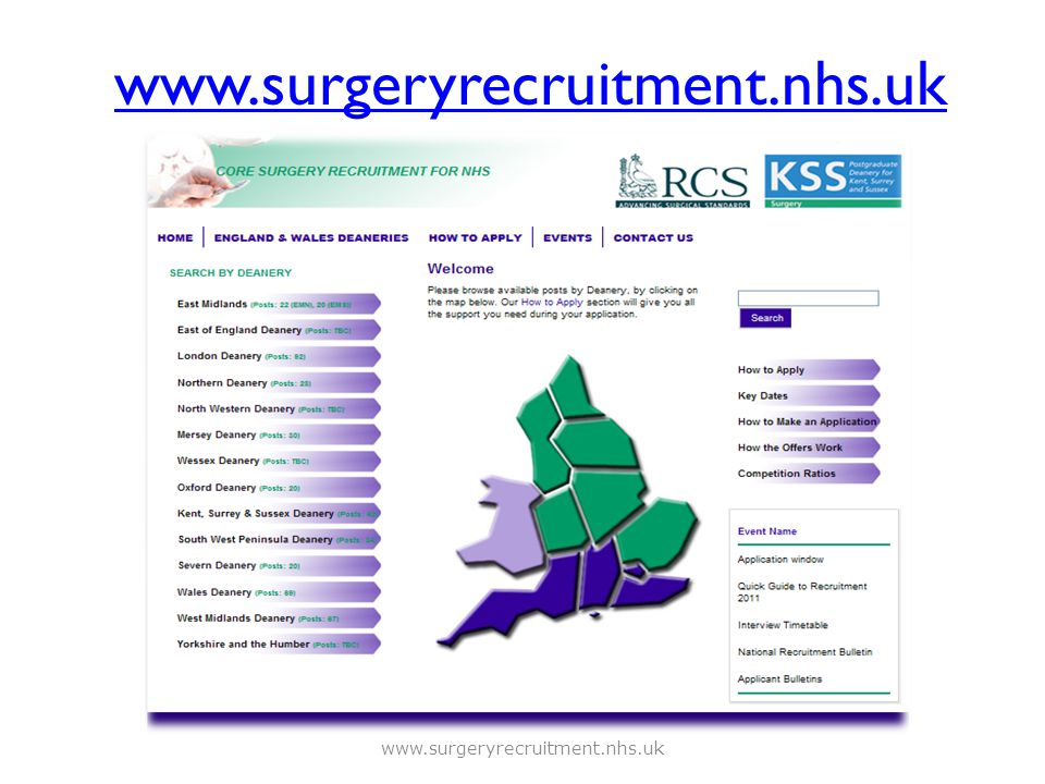 www.surgeryrecruitment.nhs.uk www.surgeryrecruitment.nhs.uk