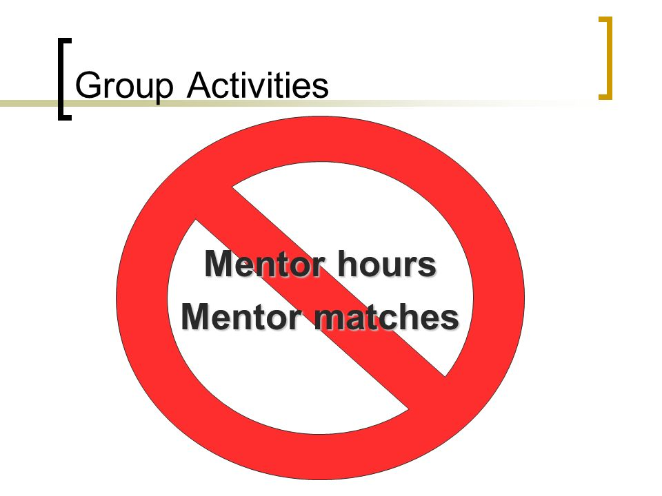 Mentor hours Mentor matches