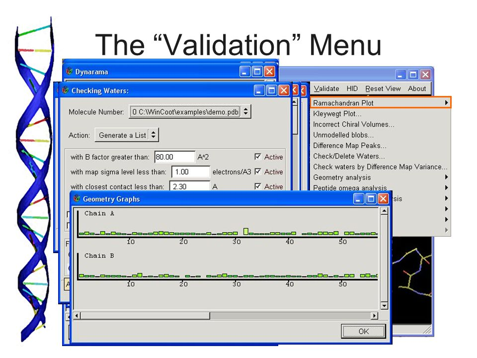 The Validation Menu