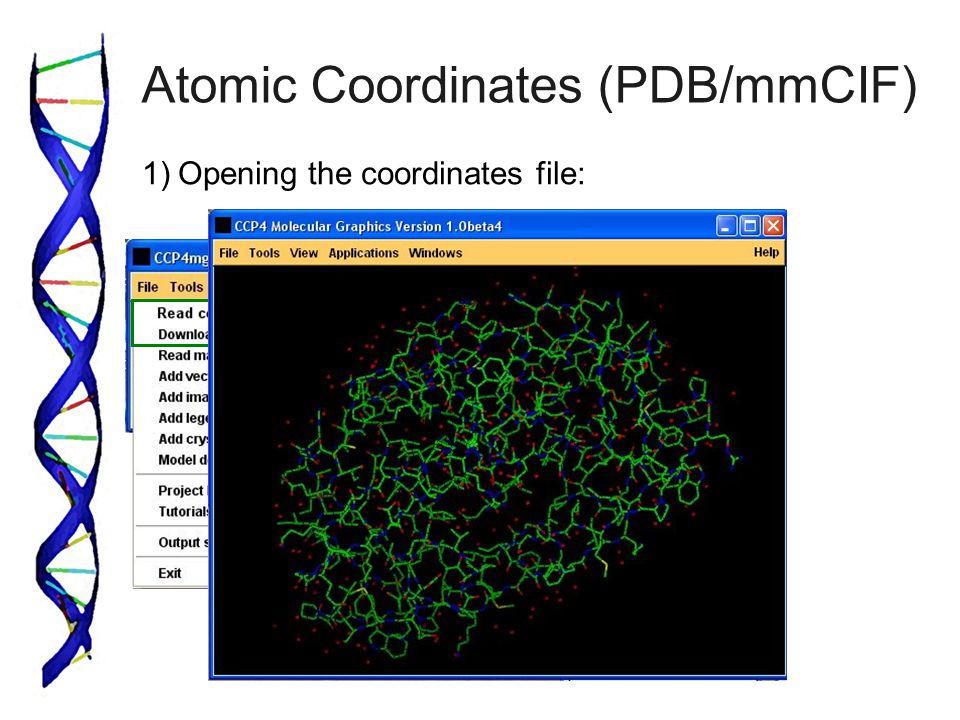 Atomic Coordinates (PDB/mmCIF)