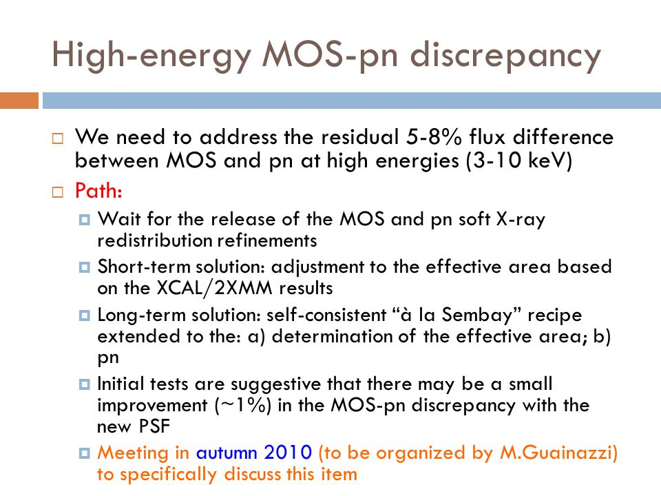 High-energy MOS-pn discrepancy
