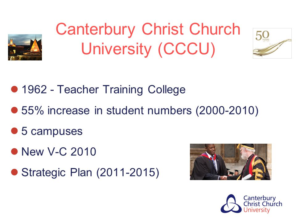 Canterbury Christ Church University (CCCU)