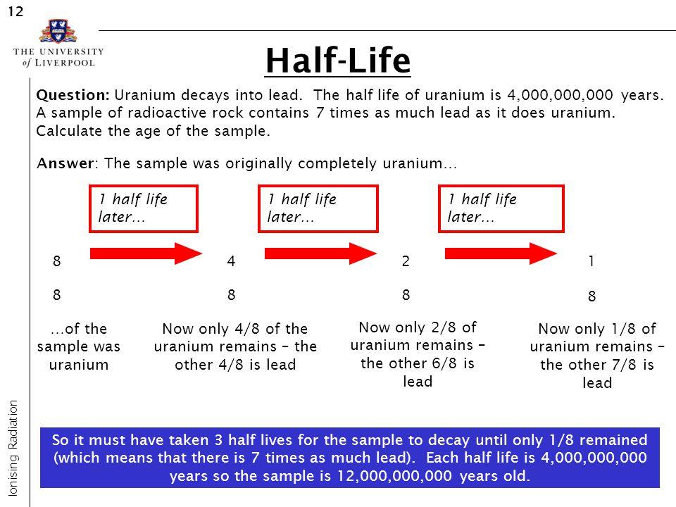 12 Half-Life.