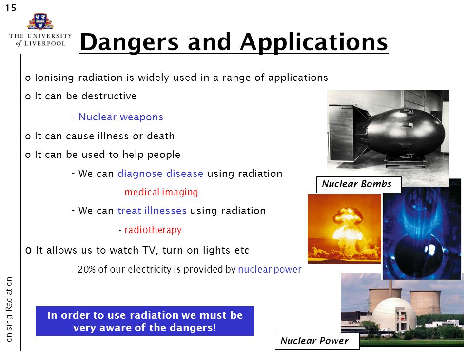 Dangers and Applications