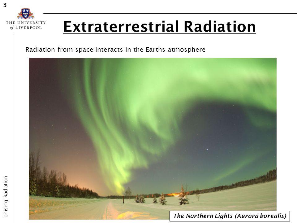 Extraterrestrial Radiation
