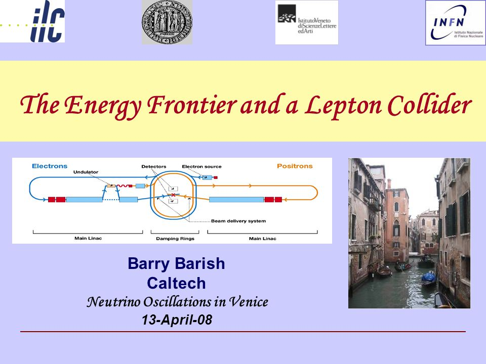 The Energy Frontier and a Lepton Collider