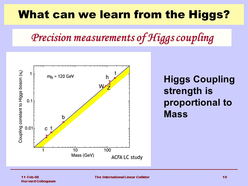 What can we learn from the Higgs