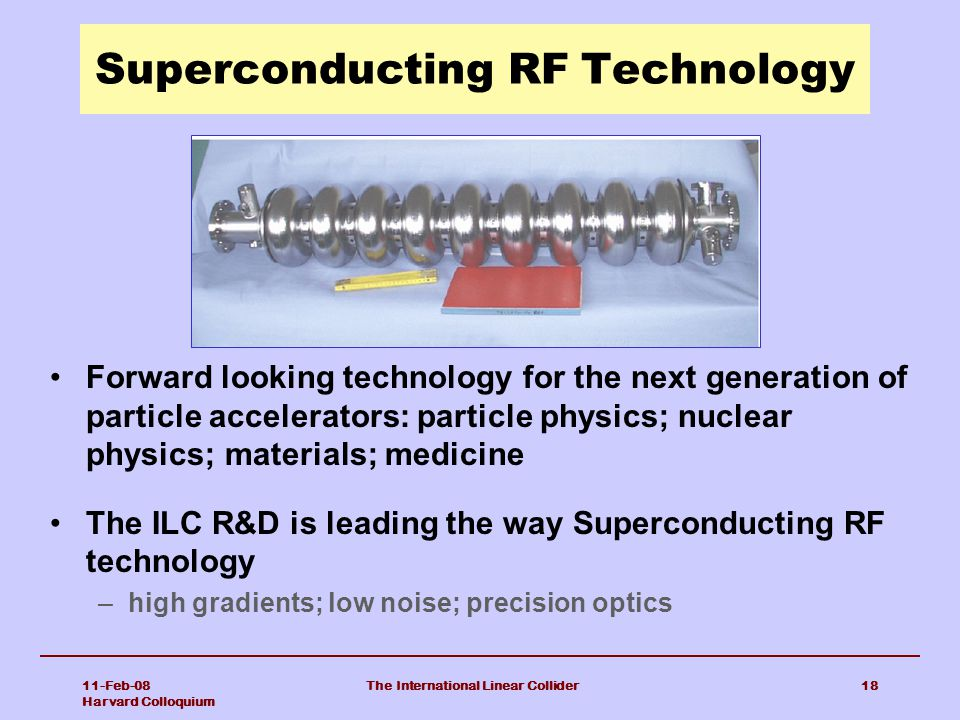 Superconducting RF Technology