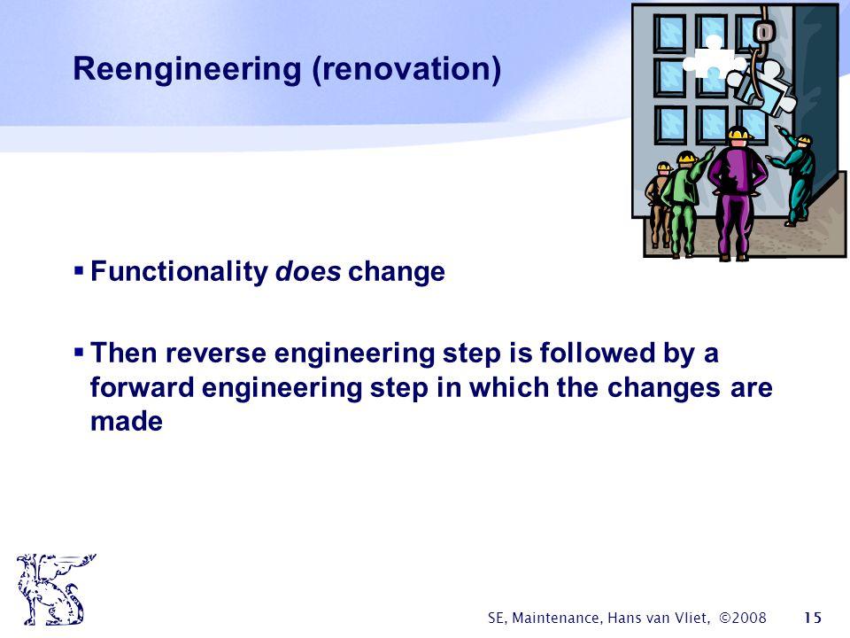 Reengineering (renovation)