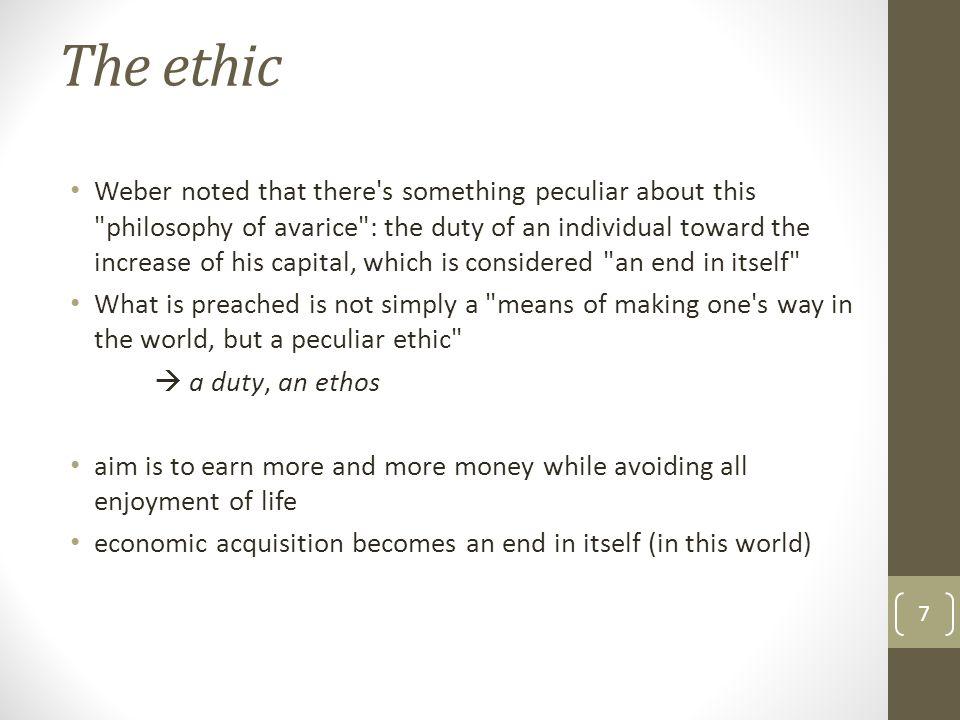 The ethic