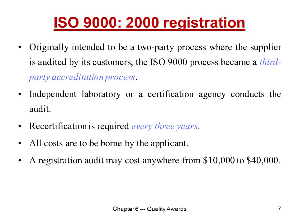Quality Management in IT