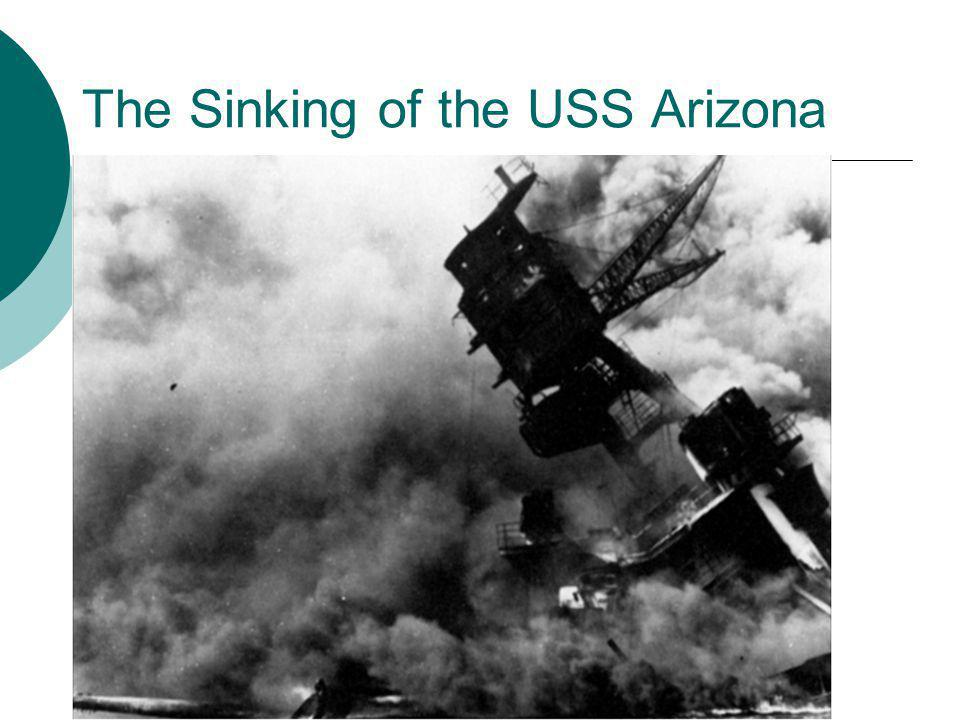 The Sinking of the USS Arizona