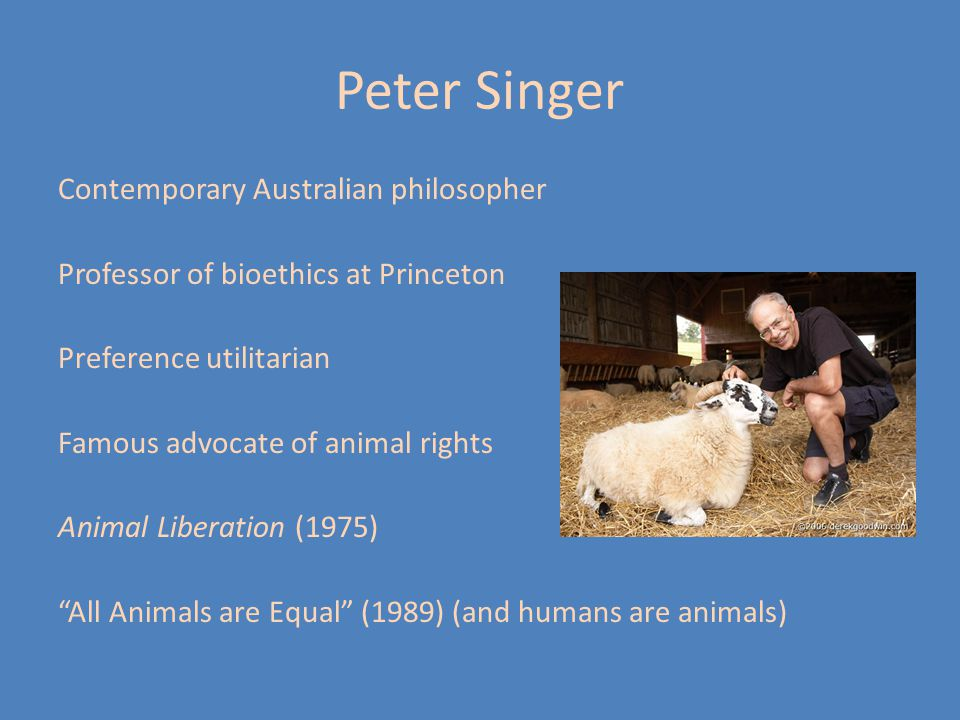 animal rights ppt video online  peter singer
