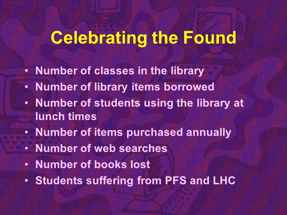 Celebrating the Found Number of classes in the library