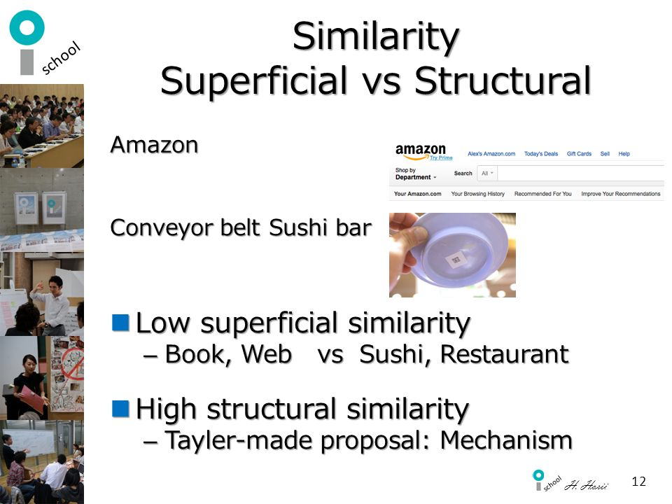 Similarity Superficial vs Structural