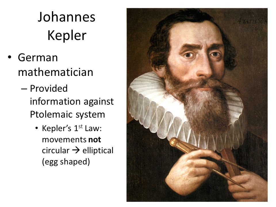 Johannes Kepler German mathematician